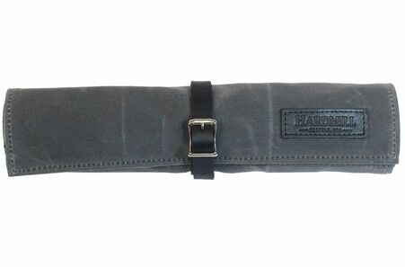 Hardmill Small Knife Roll Charcoal