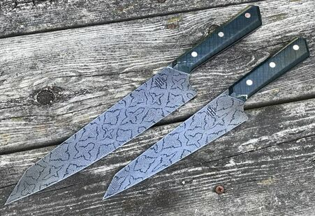 HHH Damascus Knife Set