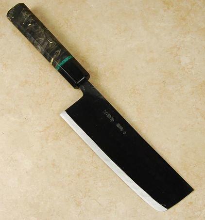 Ishikawa White #2 Black Nakiri 165mm