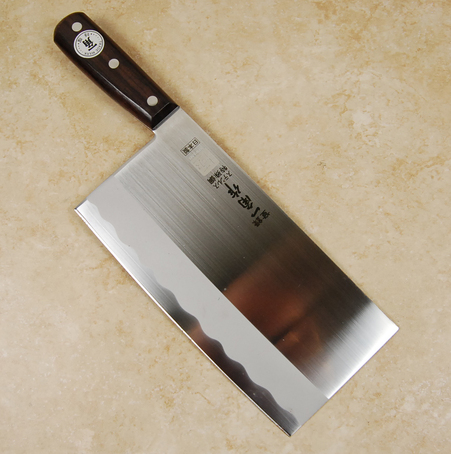 Kiwami Stainless Steel Cleaver 195mm