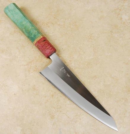 Kohetsu Shinano Blue #2 Honesuki 150mm Custom