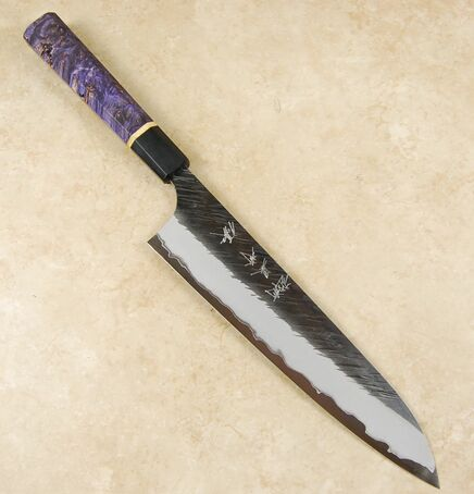 Kurosaki Fujin AS Gyuto 210mm Custom