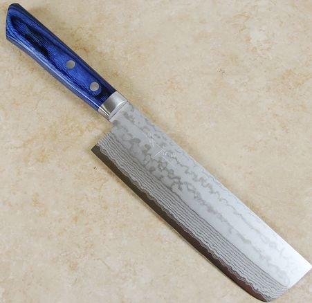 Masutani VG10 Nakiri 165mm Blue