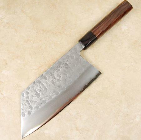 Matsubara Blue #2 Wavy Face Kiri Cleaver 180mm