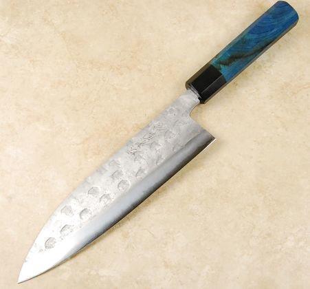 Matsubara Blue #2 Wavy Face Gyuto 210mm Custom