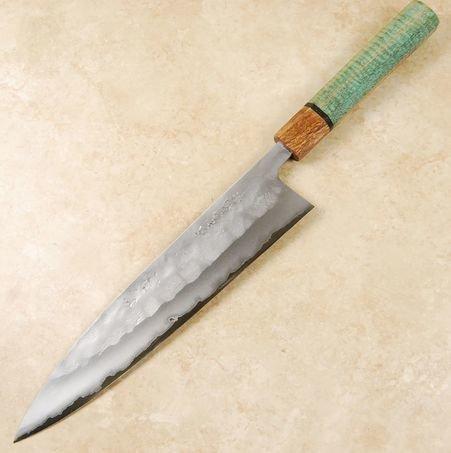 Matsubara Blue #2 KS Nashiji Gyuto 240mm