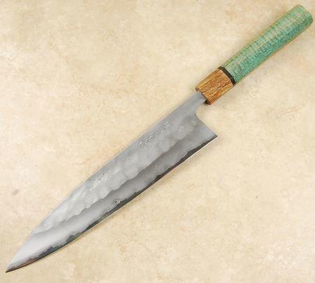Matsubara Blue #2 Nashiji KS Gyuto 240mm
