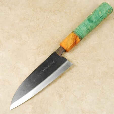 Moritaka AS Mini Santoku 130mm Custom
