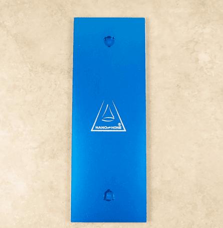 Nano Hone Blue Backing Plate