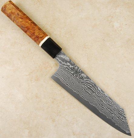 Nigara SG2 Damascus Bunka 185mm Custom