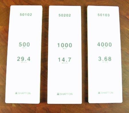 Shapton 3pc Set 500, 1K, 4K