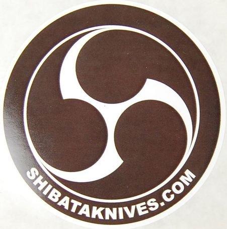 Shibata Knives Sticker