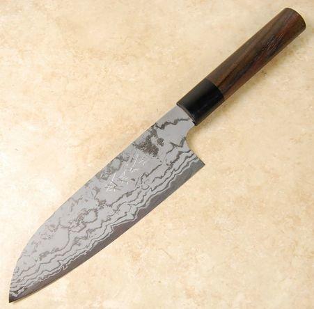 Shiro Kamo White #2 Santoku 170mm