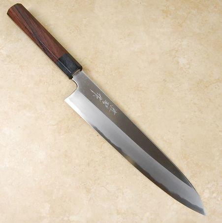 Tadokoro Wide Bevel Shirogami Gyuto 240mm