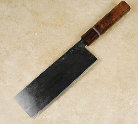 Takeda Stainless Clad AS Nakiri Custom