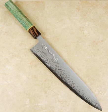 Tanaka Sekiso Blue #2 Gyuto 270mm Custom