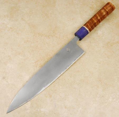Tsubaki Kori Blue #2 Gyuto 240mm Custom
