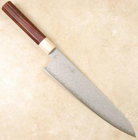 Tsunehisa AUS10 Damascus Gyuto 240mm