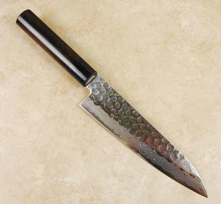 Tsunehisa VG10 Hammered Damascus Gyuto 180mm