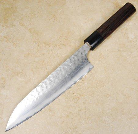 Anryu Blue #2 Hammered Gyuto 180mm
