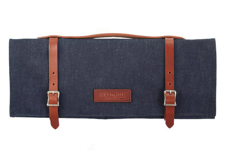 Hardmill Knife Roll Waxed Denim