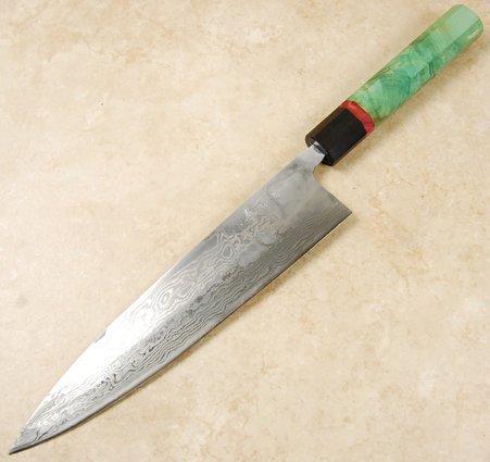Matsubara KS Ginsan Damascus Gyuto 240mm