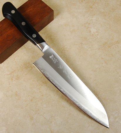 Minamoto Hamon Santoku 180mm