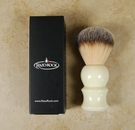 Razo Rock Plissoft Synthetic Shaving Brush