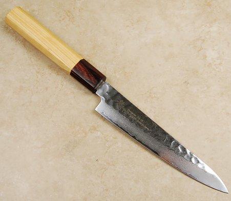 Takayuki VG-10 Hammered Damascus Wa Petty  150mm