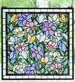 Sugar Magnolias Stained Glass Windowlight