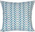 Herringbone Turquoise Pillow