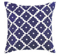 Taos Indigo Embroidered Pillow