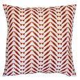 Herringbone Red Pillow