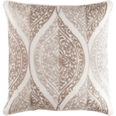 Regina Embroidered Pillow Beige<font color=a8bb35> Limited Stock</font>