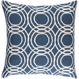 Ridgewood Pillow Navy Blue