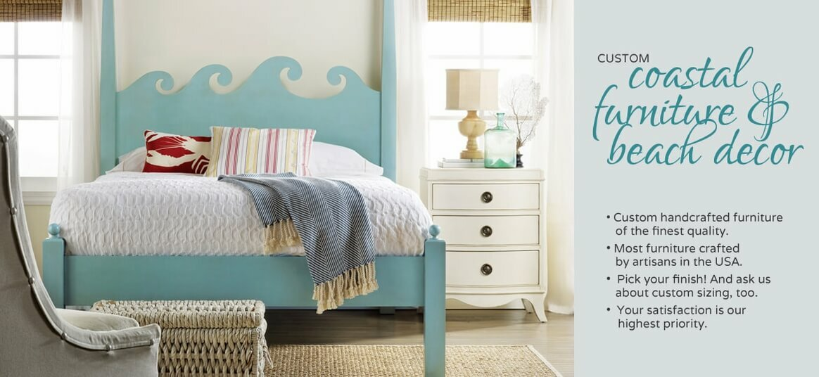 Coastal Furniture and Beach House Decor [Colors Galore] | Cottage ...
