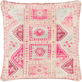 Lolita Linen Kilim Print Decorative Pillow