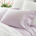 Lush Linen Pale Lilac Pillowcases