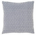 Crystal Navy/White Indoor/Outdoor Pillow