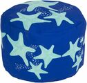 Starfish Indoor/Outdoor Pouf in Two Colors