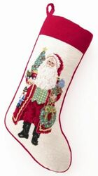 Making Spirits Bright Christmas Stocking<font color =a8bb35> Sold out</font>