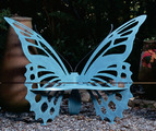 Metal Butterfly Bench - Small