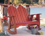Spring Lake Two Seater Outdoor Rocker