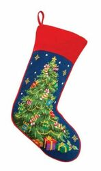 Christmas Tree Christmas Stocking<font color =a8bb35> Sold out</font>