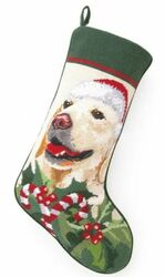 Golden Retriever Christmas Stocking<font color =a8bb35> Sold out</font>