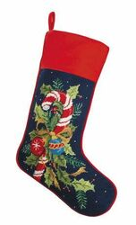 Candy Cane Chrismas Stocking<font color =a8bb35> Sold out</font>