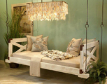 Low Country Bed Swing with Sides