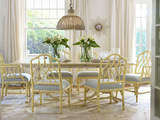 Cohasset Double Pedestal Dining Table with Leaf