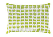 Macrame Pillow in Lime