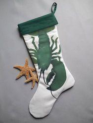 Green Lobster Stocking